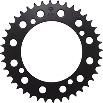 JT Sprockets JTSKN5019 525X1R Chain and 14-Tooth//42-Tooth Sprocket Kit