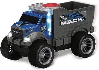 Kid Galaxy Mack Dump Truck. Light & Sound Construction Vehicle. Friction Toy Car Dumptruck