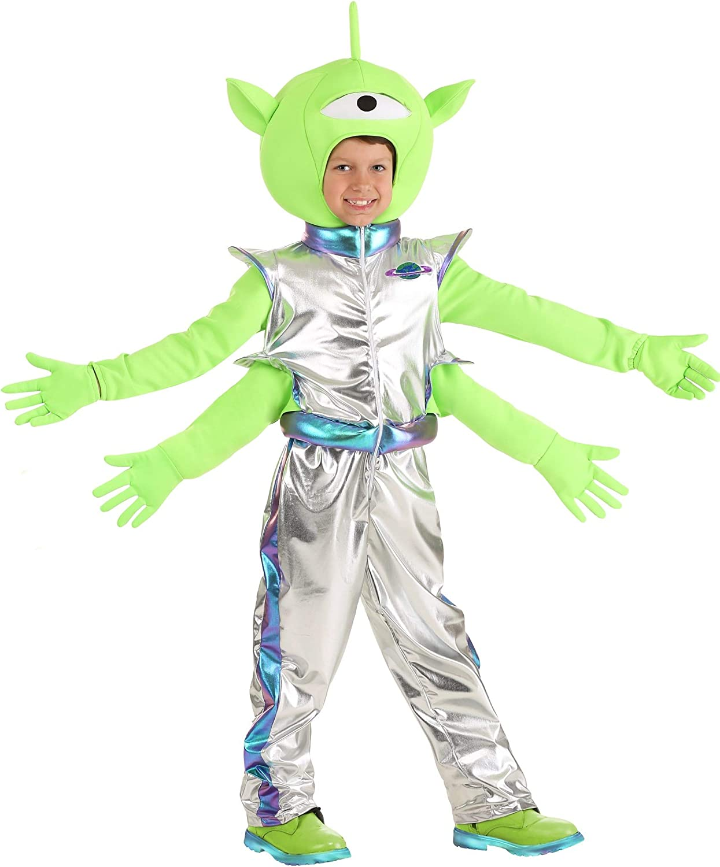 Kid's Ranking TOP18 Friendly Alien Dedication Costume