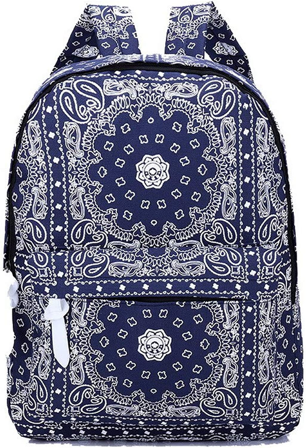 AmoonyFashion Women's Tote Bags Casual Canvas Shoulder Bags,BUTBS208874,Darkbluee
