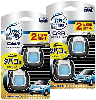 ファブリーズ 車用 クリップ型 消臭芳香剤 イージークリップ タバコ用 2mL×4個