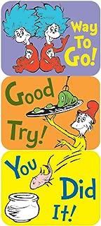 Eureka Dr. Seuss Classroom Supplies Back to School Stickers, 120 pc, 1.4'' W x 1'' H