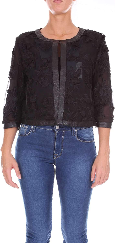 Anna Neva Couture Women's 18050BLACK Black Polyester Jacket
