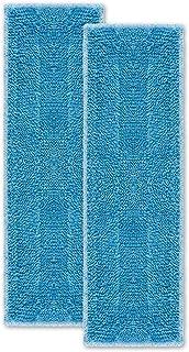 Polti Moppy Kit de 2 Serpillières pour le Nettoyage de Tous les Sols et Surfaces Verticales, Microfibres avec Haute Perfor...