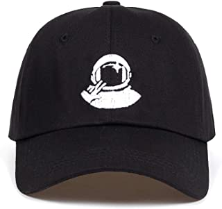 Wilbur Gold Women Men New Black Baseball Caps Astronaut Spaceman Embroidery Explorer Cotton% Hats Golf Hat Garros