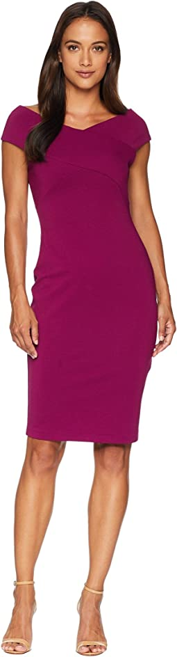 Petite Daphne Ottoman Sheath Dress