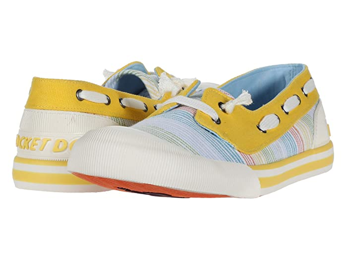 Rocket Dog  Jazzin Jetty (Yellow Multi) Womens Shoes