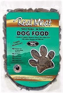 Real Meat Company Air Dried Turkey Dog Food, 2-lb Bag