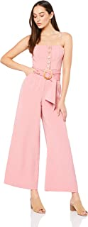 Finders Keepers Women's Westway Jumpsuit, Mauve