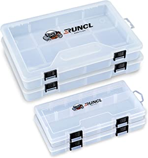 Details about  /Double Sided Fishing Tackle Box Storage Trays with Removable Dividers Fly S6R0