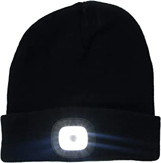 Night Scout DM Merchandising Inc Rechargeable LED Beanie (Black)