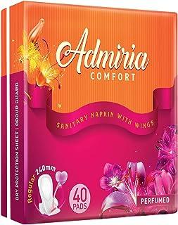 Admiria Comfort Sanitary Pad/Napkins - Regular (Pack of 40)