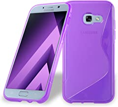 Cadorabo Case Compatible with Samsung Galaxy A3 2017 in Pastel Purple - Shockproof and Scratch Resistant TPU Silicone Cove...