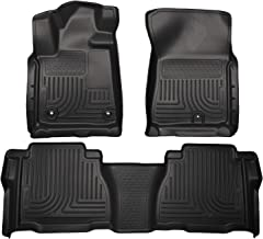 Husky Liners Fits 2012-13 Toyota Tundra CrewMax/Double Cab Weatherbeater Front & 2nd Seat Floor Mats (Footwell Coverage)