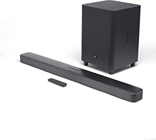 "JBL Bar 5.1 Soundbar with Built-in Virtual Surround, 4K and 10"" Wireless Subwoofer (2019 Model)"