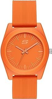 Skechers Women's Ocean Gate Quartz Watch with Silicone Strap