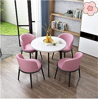 Table de salle à manger pour la cuisine ou la de l Ensemble de table à manger rond, table de restaurant et chaise pour com...