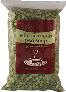 The Secret Garden, Wild Rice Split Pea Soup; All-Natural, Vegan, One Pot Mix (2 PACK)