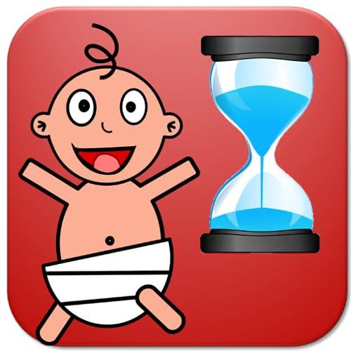 Baby Uhr - Neugeborenen Timer