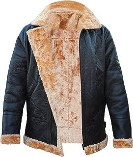 Farrier Fur Collar Shearling Dunkirk Aviator Sheepskin Tom Brown Hardy Bomber Urban Flight Leather Jacket
