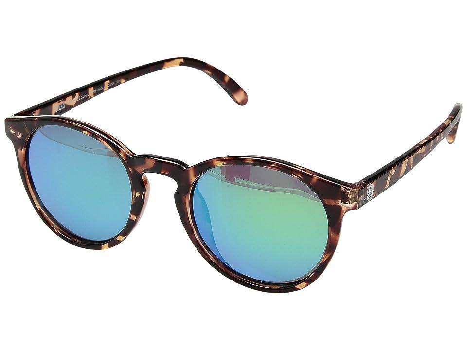 Sunski Dipsea (Tortoise/Emerald) Sport Sunglasses