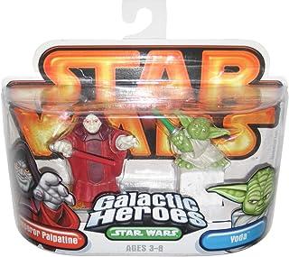 Star Wars Galactic Heroes Emperor Palpatine and Yoda