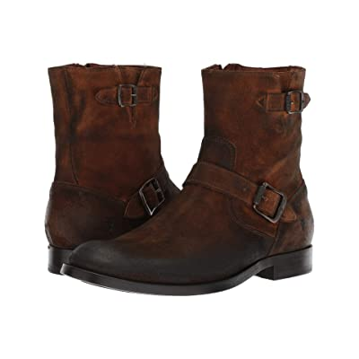 Frye Jacob Engineer (Wheat Oiled Suede) Cowboy Boots