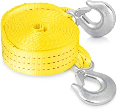 """Neiko 51005A Heavy Duty Tow Strap with Safety Hooks 