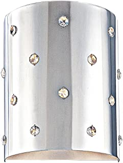 George Kovacs P037-077, Bling Bling, 1 Light Wall Sconce, Chrome