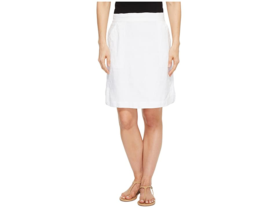 Tommy Bahama Two Palms Short Skirt (White) Women