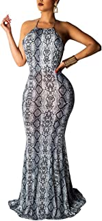 snakeskin mermaid dress