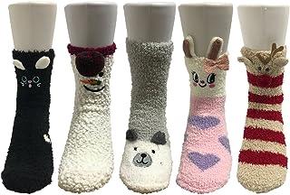 Pack de 5 pares de calcetines para dormir Mujer Térmicos Invierno