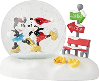 Department 56 Disney Classic Brands Mickey and Minnie Waterball, 4.53