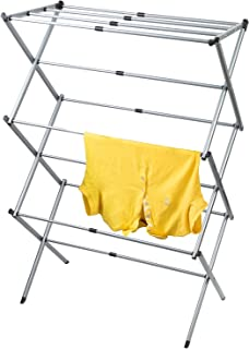 Artmoon Gobi Foldable Drying Rack   Extendable 17.3''- 29.5''   Rustproof Steel   Grey