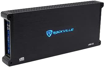 Rockville 3200w Peak / 800w RMS 4 Channel CEA Compliant Car Amplifier, Loud!! (dB45)