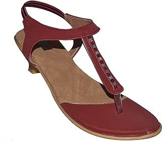 Hero Shoe Line Olive Brown & Beige Back Sandal