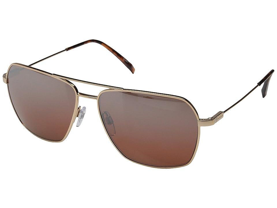 Electric Eyewear Av2 Polarized (Rose Gold/Melanin Rose Silver Chrome Gradient) Sport Sunglasses