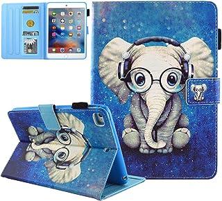 iPad Mini Case, iPad Mini 2/3 Case, iPad Mini 4 Case, iPad Mini 5 Case,JZCreater Folio Stand Wallet Case with Auto Sleep/W...