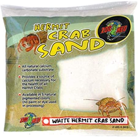 Zoo Med Hermit Crab Calcium Sand Substrate, 2 Pounds