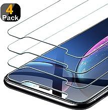 Beikell [Pacco da 4] Pellicola Protettiva in Vetro Temperato Compatibile con iPhone XR - Durezza 9H, Anti graffio, Senza Bolle, Alta Definizione, Facile da Pulire