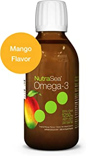 Nature's Way NutraSea Omega 3 Supplement, GMO Free, Mango, 200 mL Liquid
