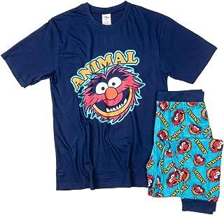 Mens Navy The Muppets Animal Pyjamas