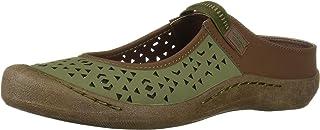 MUK LUKS Women's Justine Sport Shoe-Olive Sandal