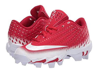 Nike Kids Vapor Ultrafly 2 Keystone Baseball (Little Kid/Big Kid) (University Red/White/Gym Red) Boys Shoes