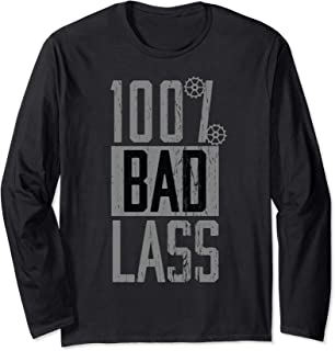 WWE Becky Lynch 100% Bad Lass Light 長袖Tシャツ