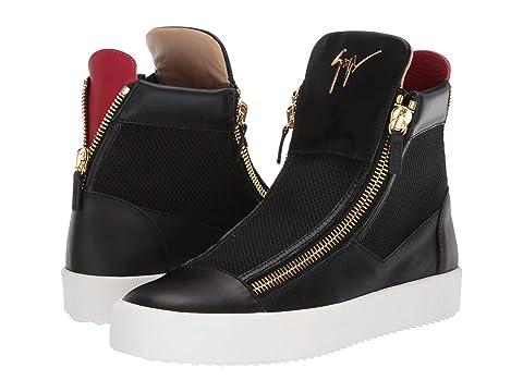 Giuseppe Zanotti Zipper High Top Sneaker