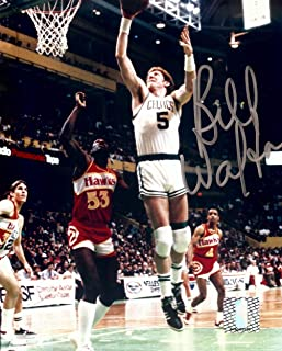 bill walton signed photo