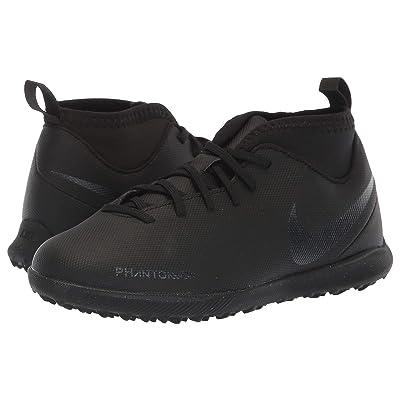 Nike Kids Jr. ObraX 3 Club Dynamic Fit TF Soccer (Toddler/Little Kid/Big Kid) (Black/Black/Light Crimson) Kids Shoes