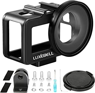 Luxebell Aluminium Alloy Skeleton Thick Solid Protective Case Shell Frame Housing for DJI Osmo Action Camera