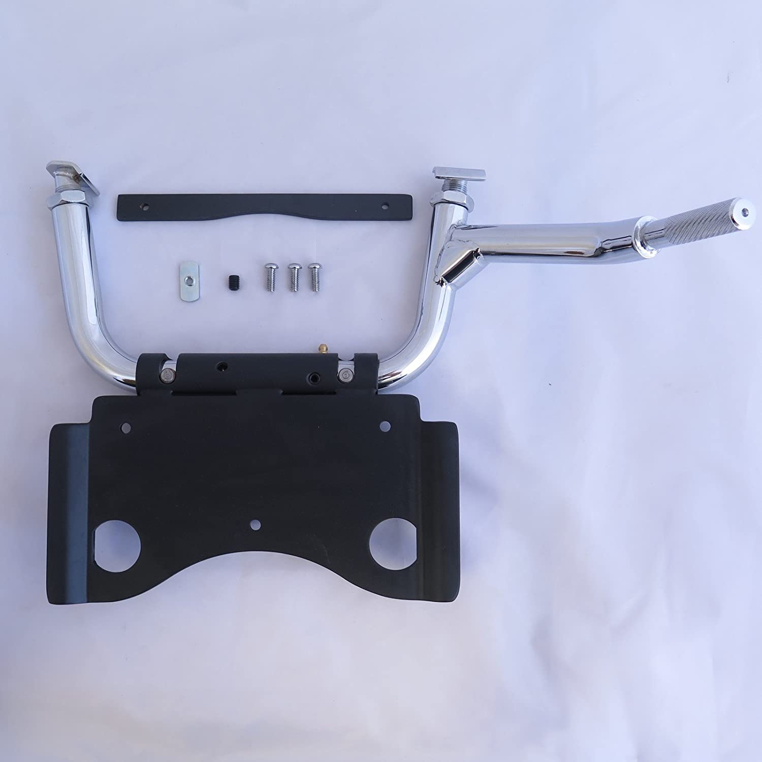 HONGK- Chrome Adjustable Center Stand Ele with price New sales Compatible Harley
